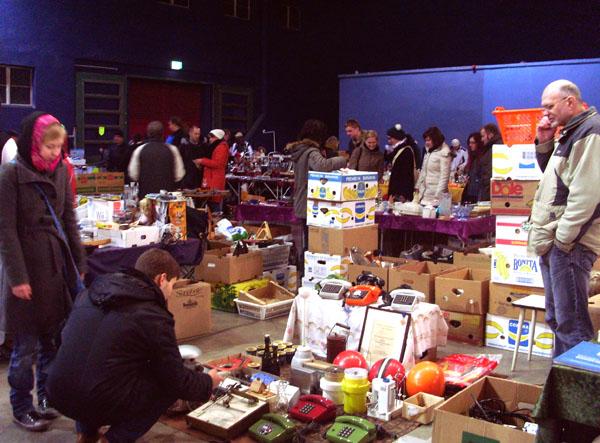 Leipziger Nachtflohmarkt im Kohlrabizirkus
