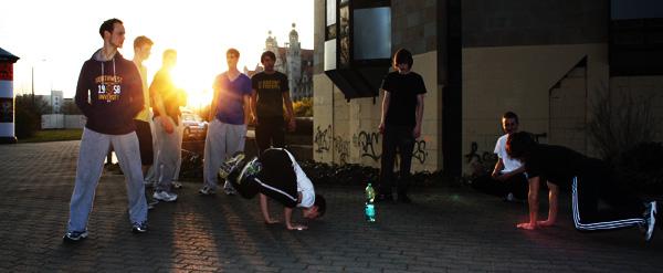 Parkour Training in Leipzig Twio X