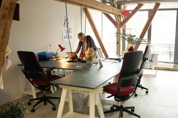 Coworking space raumstation leipzig tapetenwerk