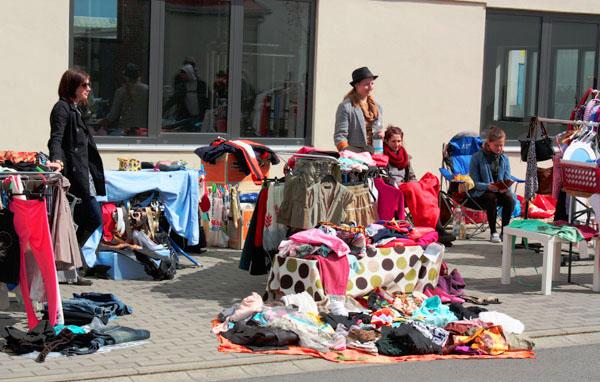 Leipzig Kleiderflohmarkt