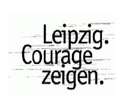 leipzig zeigt courage logo