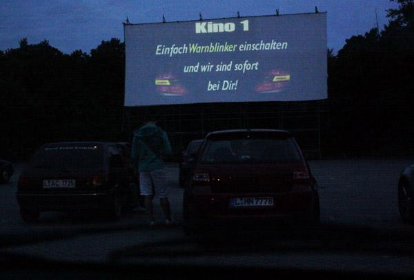 Leipzig Autokino Altes Messegelände