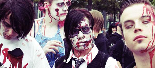 Zombiewalk in Leipzig