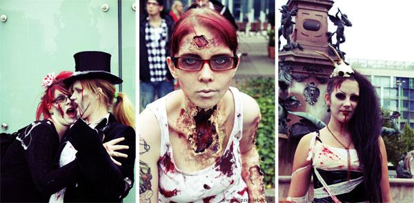 zombiewalk durch leipzig