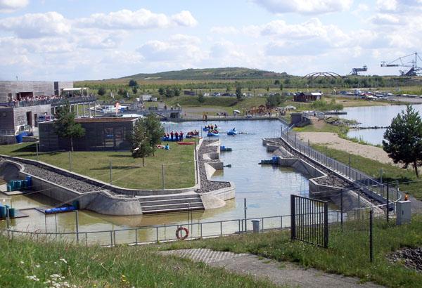 Markkleeberger See Leipzig Kanupark