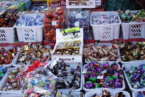 Verbrauchermarkt Sportforum Leipzig Süßigkeiten