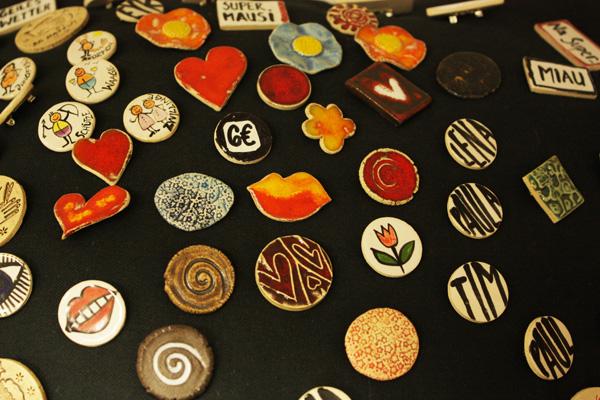 Tausenschön Keramik Button