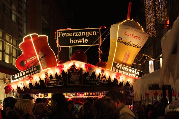 Weihnachtsmarkt Leipzig Feuerzangenbowle
