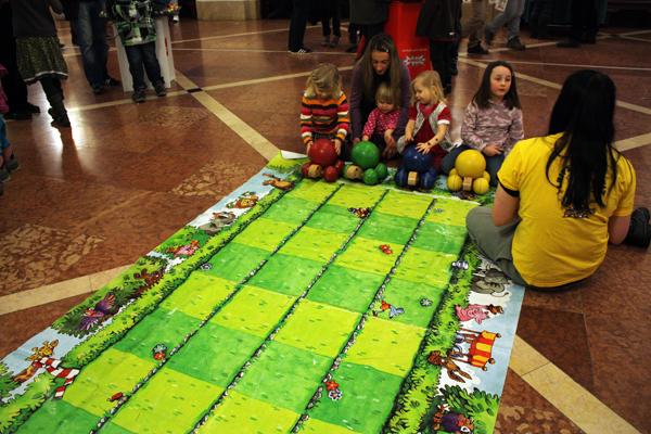 Familien Spiele Fest Leipzig Rathaus