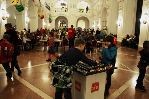 Familien Spiele Fest Rathaus Leipzig