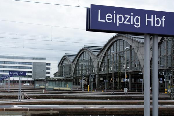 Hauptbahnhof Leipzig Gleise