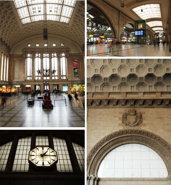 Hauptbahnhof Leipzig Innen Architektur