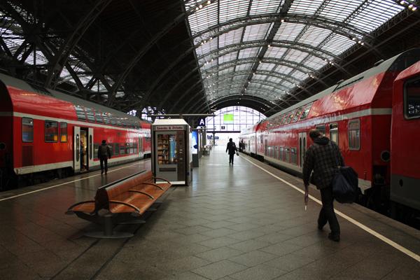 Hauptbahnhof Leipzig Züge