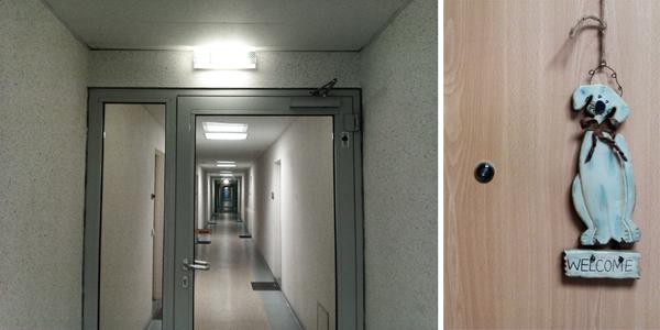 Neubaublock Probstheida innen Leipzig