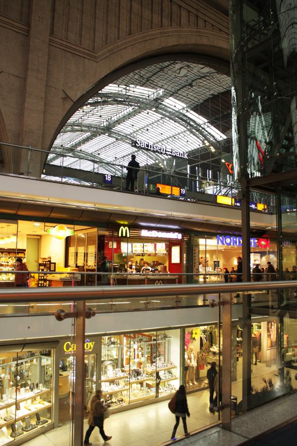 Promenaden Hauptbahnhof Leipzig Einkaufszentrum