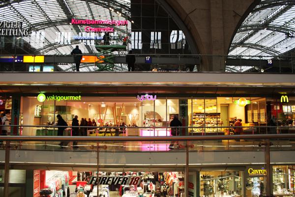 Promenaden Hauptbahnhof Leipzig Zentrum
