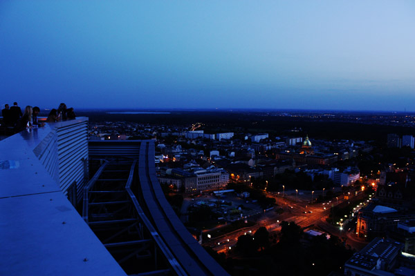 panorama tower plattform