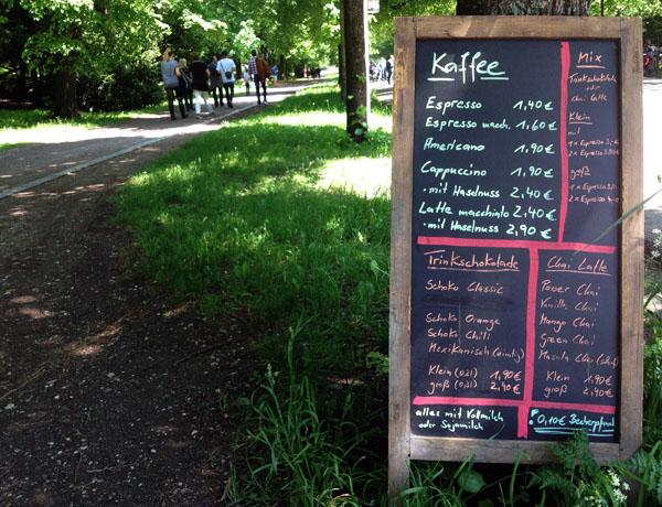 Cafe Sachsenbrücke Kaffee Leipzig