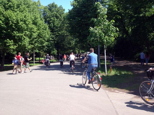 clara-zetkin-park fahrräder