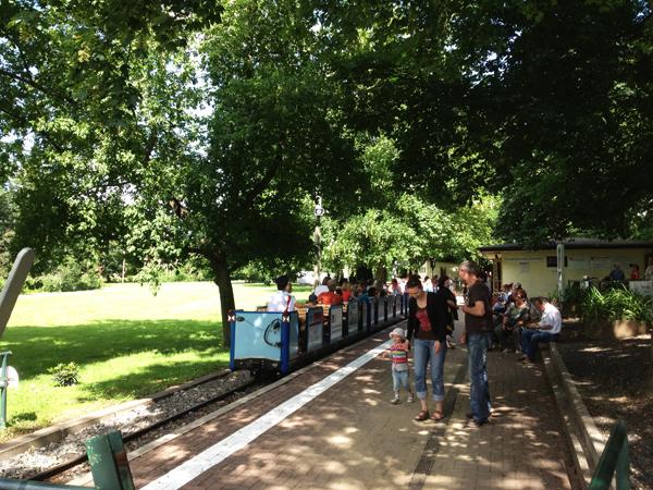 Auensee Parkeisenbahn Bahnhof