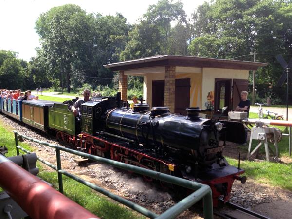 Auensee Parkeisenbahn Dampflok