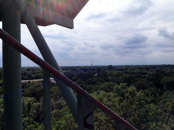 Aussicht Rosentalturm Leipzig