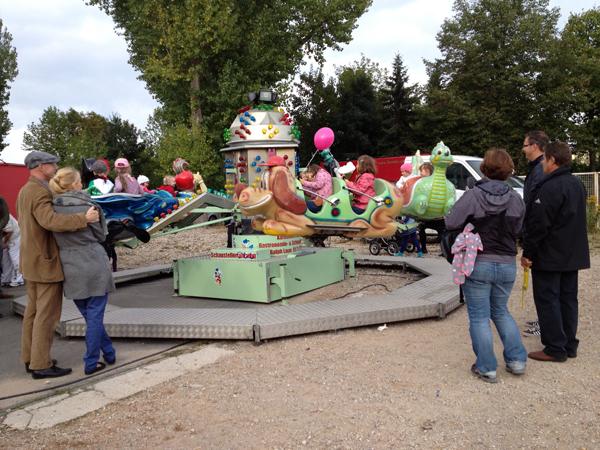 Kindertag Leipzig Karussel