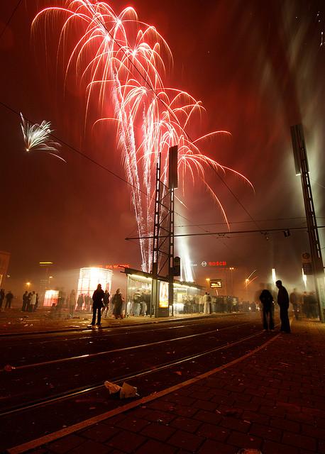 Feuerwerk Leipzig