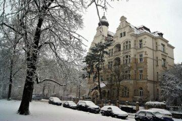Winter Auto Leipzig