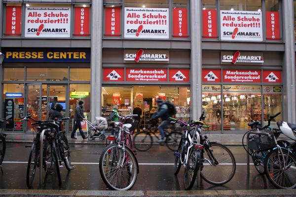 Schuhmarkt Klauser Leipzig