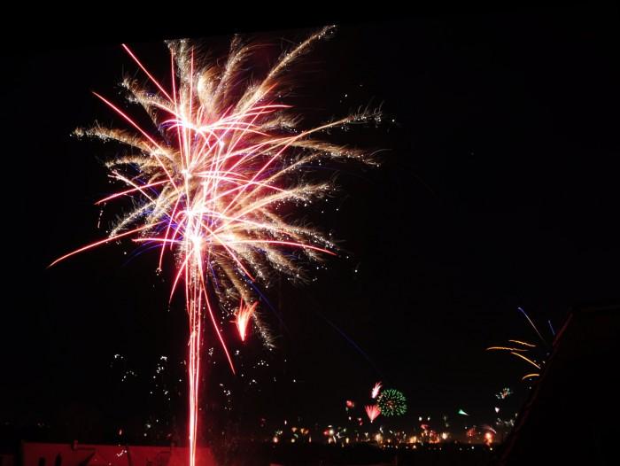 Feuerwerk 2014 Leipzig
