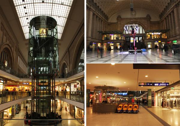 Hauptbahnhof Leipzig Promenaden