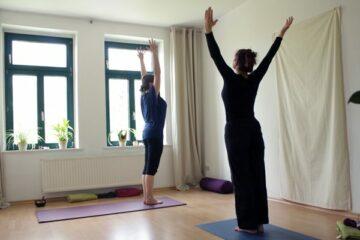 Yoga Leipzig atmungsaktiv