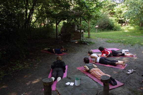 Stadtgarten Connewitz Yoga