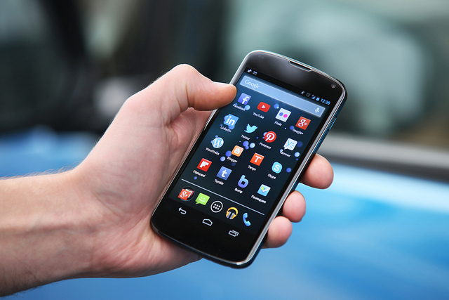 Smartphone Leipzig