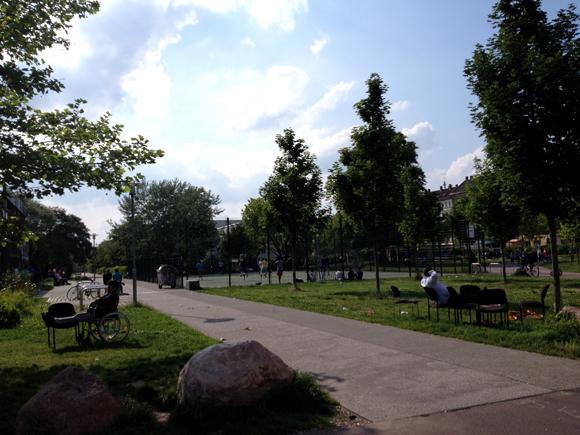 Rabet Spielplatz Leipzig