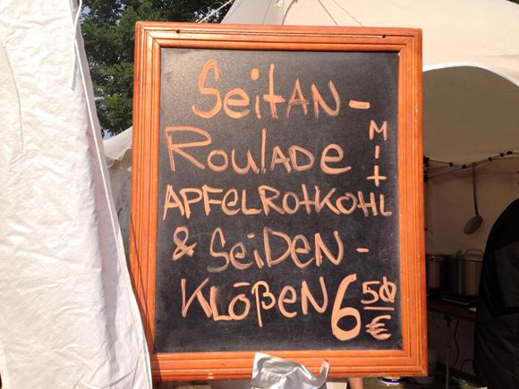 Seitan Roulade Vegan Summer Day