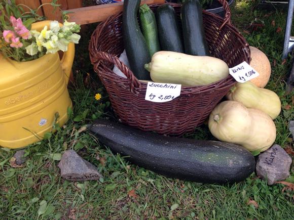 Vegan Summer Day Gemüse