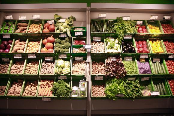 Veganz Leipzig Obst und Gemüse