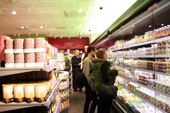 Veganz Leipzig Supermarkt