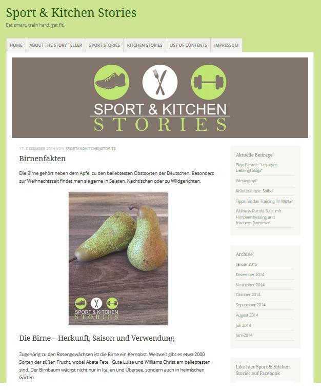 sport & kitchen stories