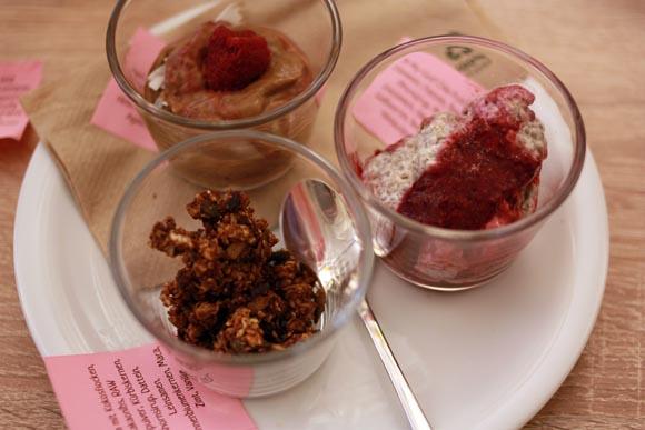 Greenwalk goodies dessert