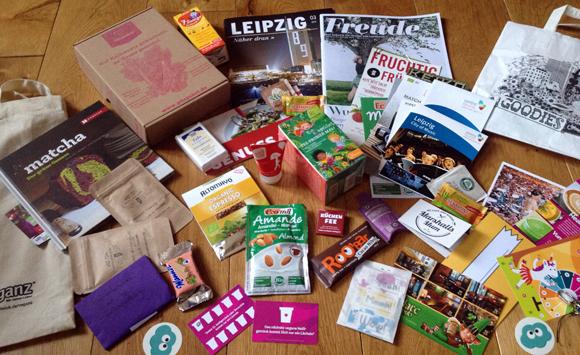 greenwalk leipzig goodies bag