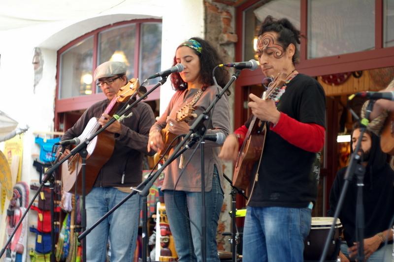 2014-09-13 Son del Barrio vor dem Patiperro