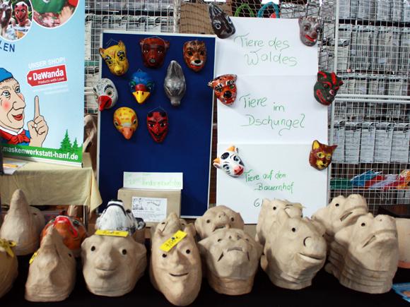 DaWanda Kreativmarkt Masken