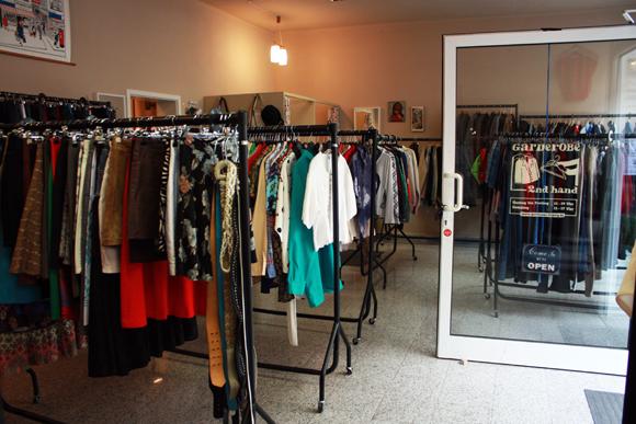 Garderobe Laden