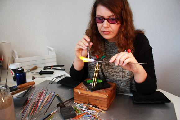 Melanie Mörtel Glas Perlen Macherin
