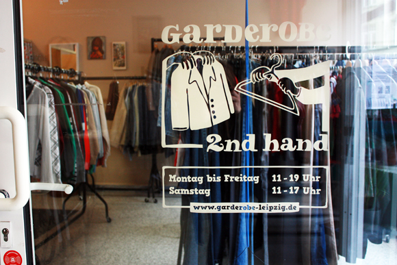 Second hand Laden Leipzig Garderobe