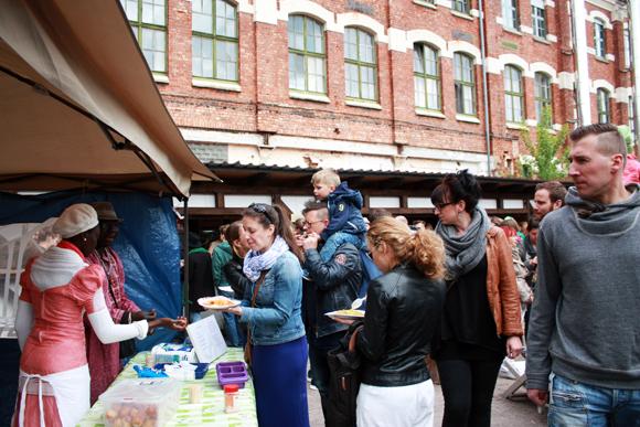 The Market in Leipzig