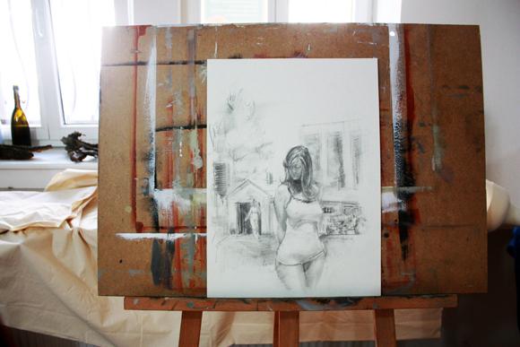 Heiko Mattausch Grafik und Malerei